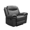 8005 - Manual Reclining Chair - Grey