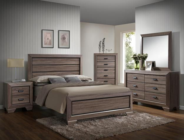 Farrow Bed Frame - Available in King, Queen, Double and Single