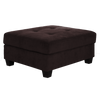 9382 - Soft Brown Fabric Sectional (Ottoman Available)