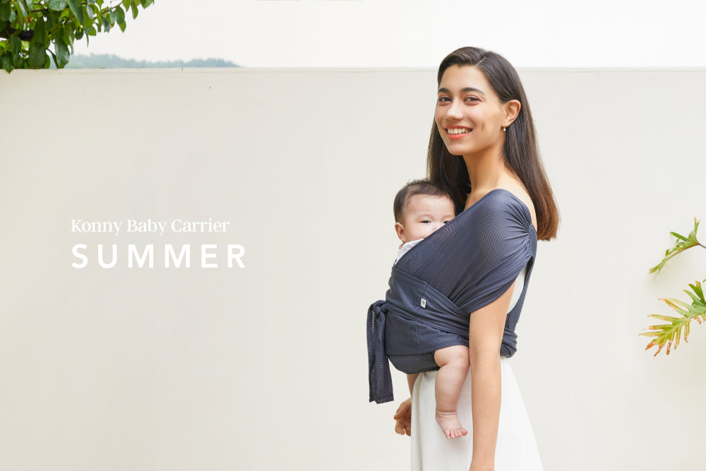 An ultra-lightweight and hassle-free baby wrap carrier, designed to look great, alleviates back/shoulder pain and helps babies fall asleep quickly and soundly.