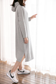 Daily Hoodie Nursing Dress