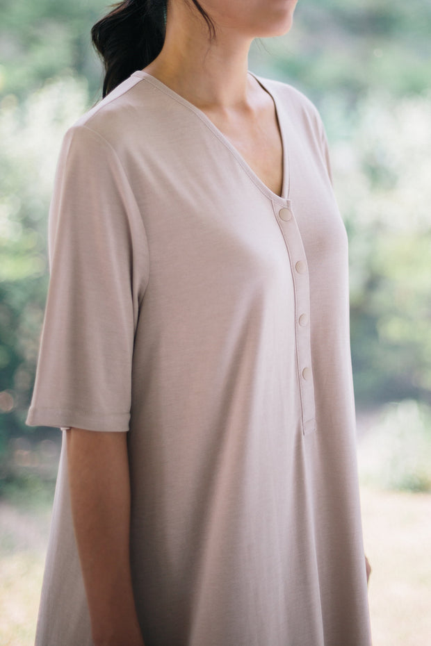 Comfy Breathable Nursing Dress