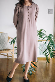 Snap Down Nursing Dress