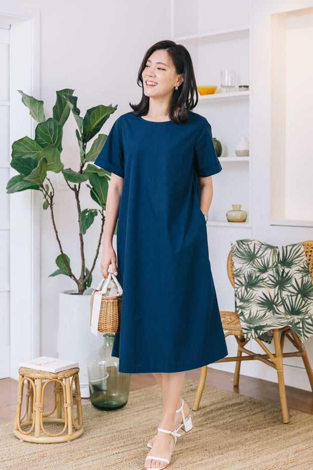 Minimal A-line Nursing Dress