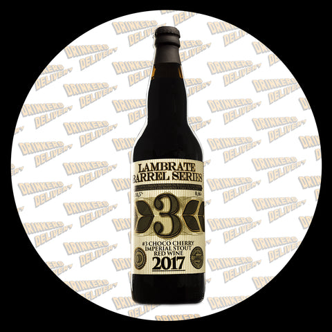 Lambrate / Choco-cherry imperial stout red wine 2017 bottiglia 066