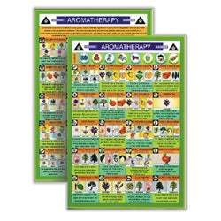 Aromatherapy Home & Garden Use Mini Chart