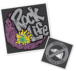 Rock Life (Not Rack Life) T-Shirt - Aquarium-Reefers Online Store