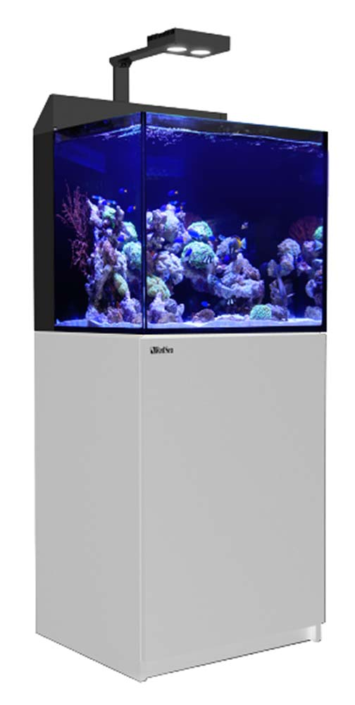 Red Sea MAX E-Series 170 Rimless Aquarium 45 Gallons with AI Hydra 26 HD LED Light