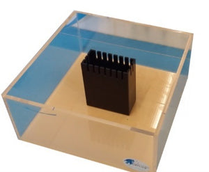 Frag Tank with Center Overflow (Viewable on all 4 sides) - Aquarium-Reefers Online Store