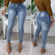Marilyn High Waist Jeans (Light Wash)