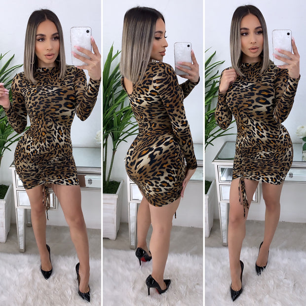 Never Love Cheetah Dress