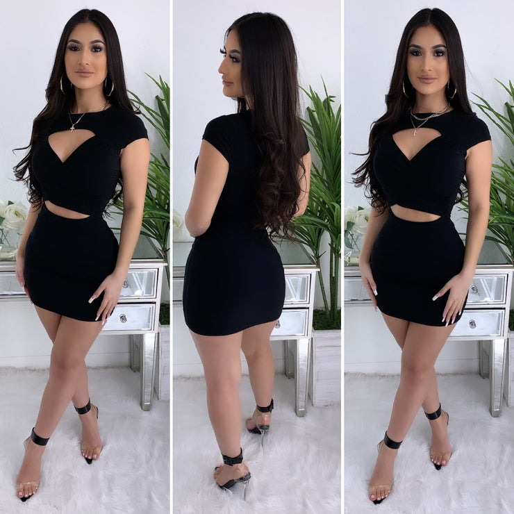 Almost There Dress (Black)
