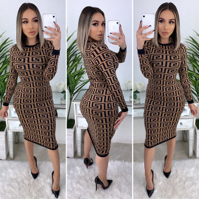 Looking For A Date Midi Dress