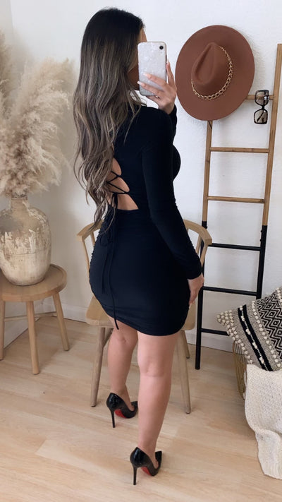 Snatched Couture Dress (Black)