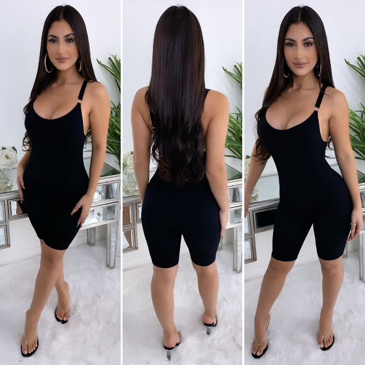 Chilled Out Romper (Black)