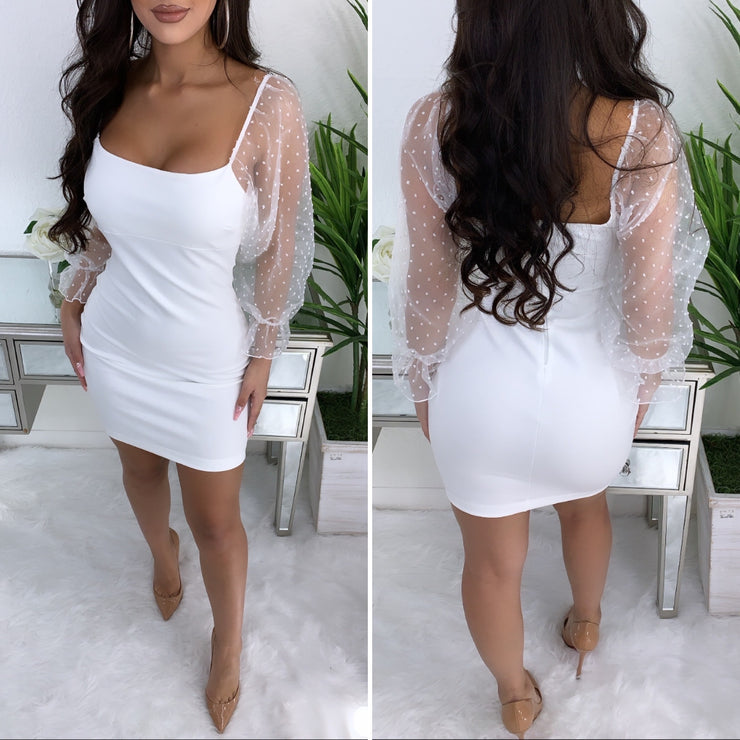 Highly Classified Couture Dress (White)