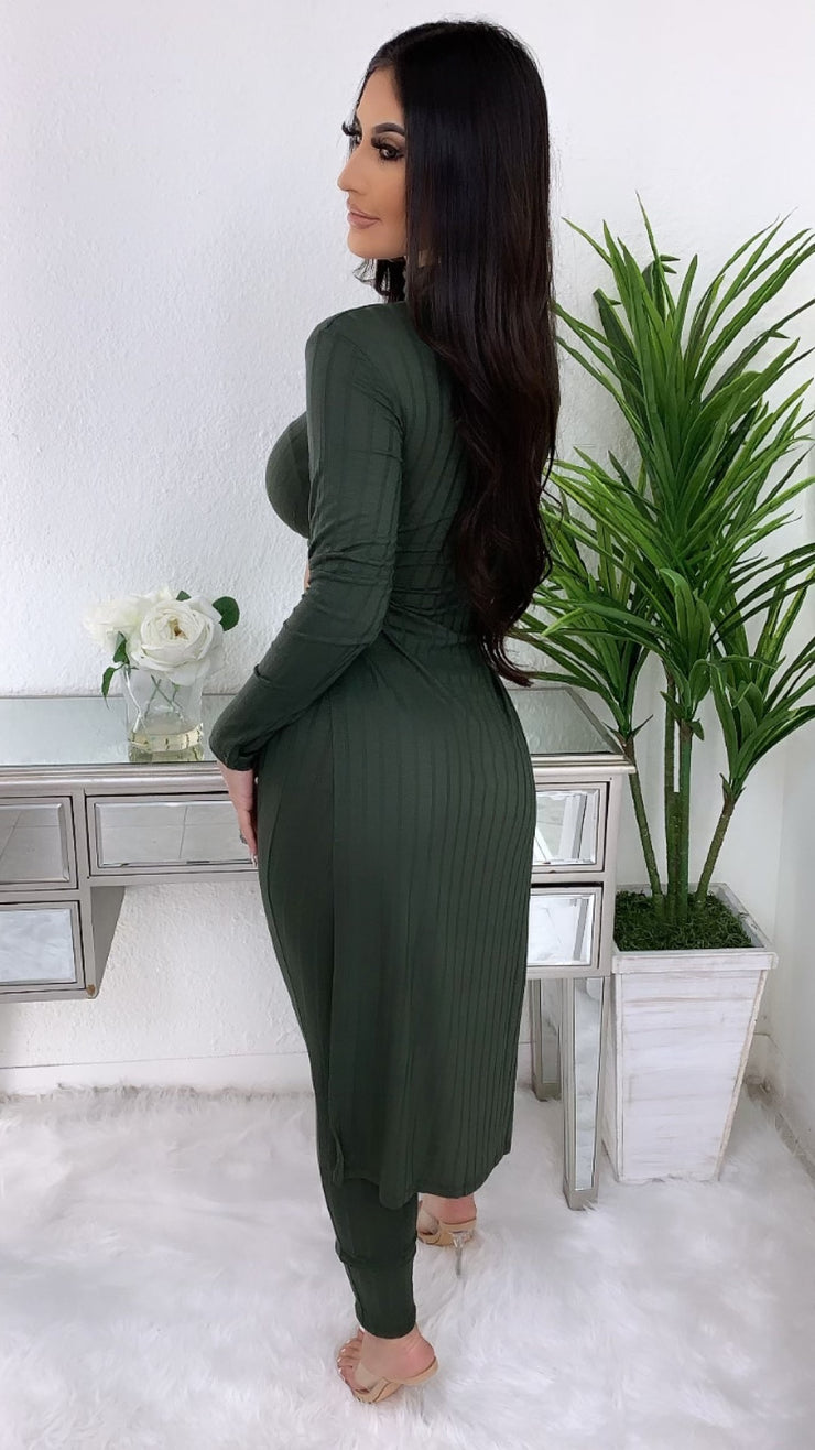 Bailey 2 PC Set (Olive)