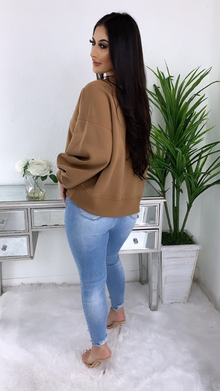 Fit You In Sweater (Camel)