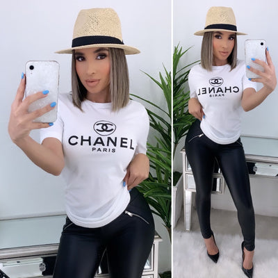 Chanel New Classic T-Shirt (White)