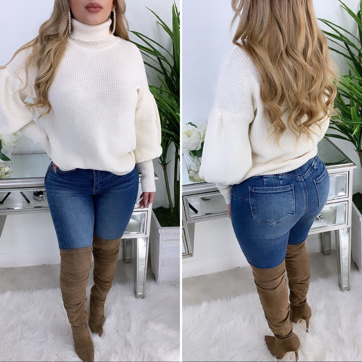Never To Comfortable Sweater (Ivory)