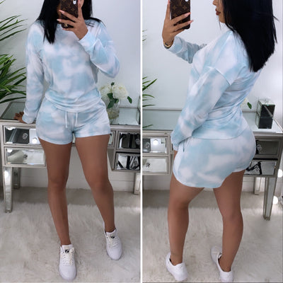 Just A Dream 2PC Set (Sky Blue)