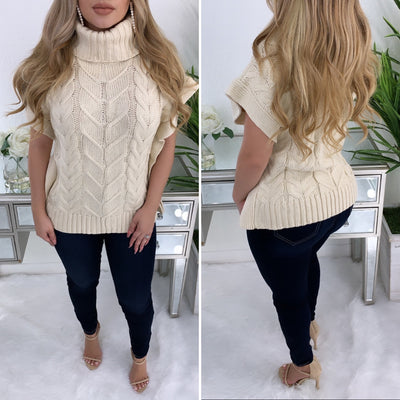 Keep Calm Couture Sweater (Cream)