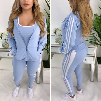 Can You Keep Up 3PC Set (Baby Blue)
