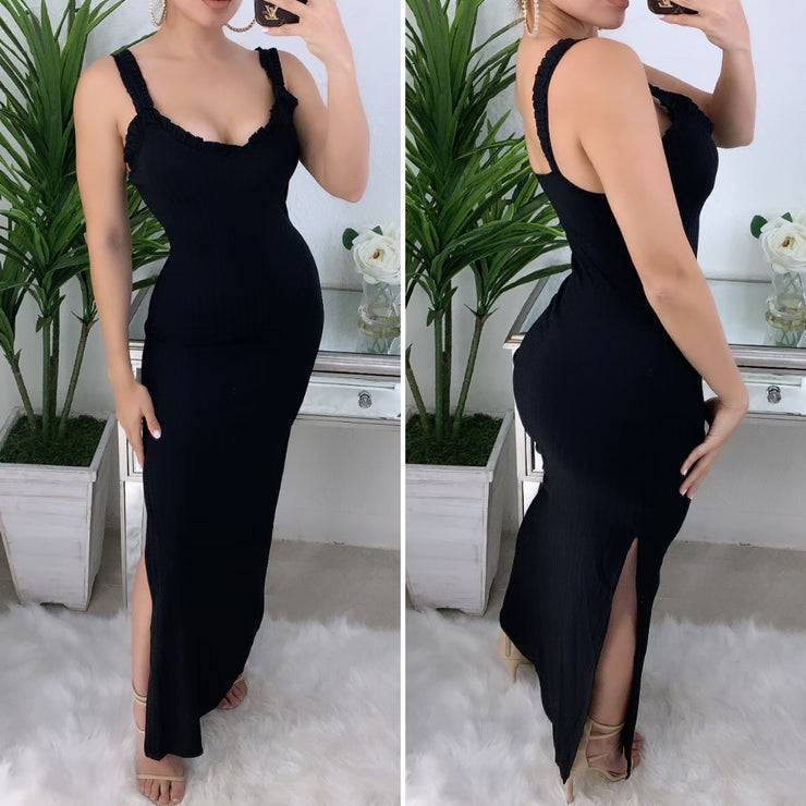 My All Long Maxi Dress (Black)