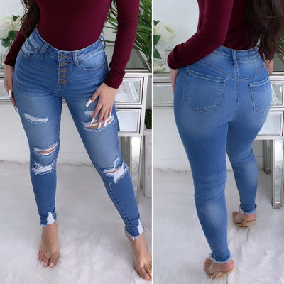 Millenium High Rise Jeans (Medium Denim)