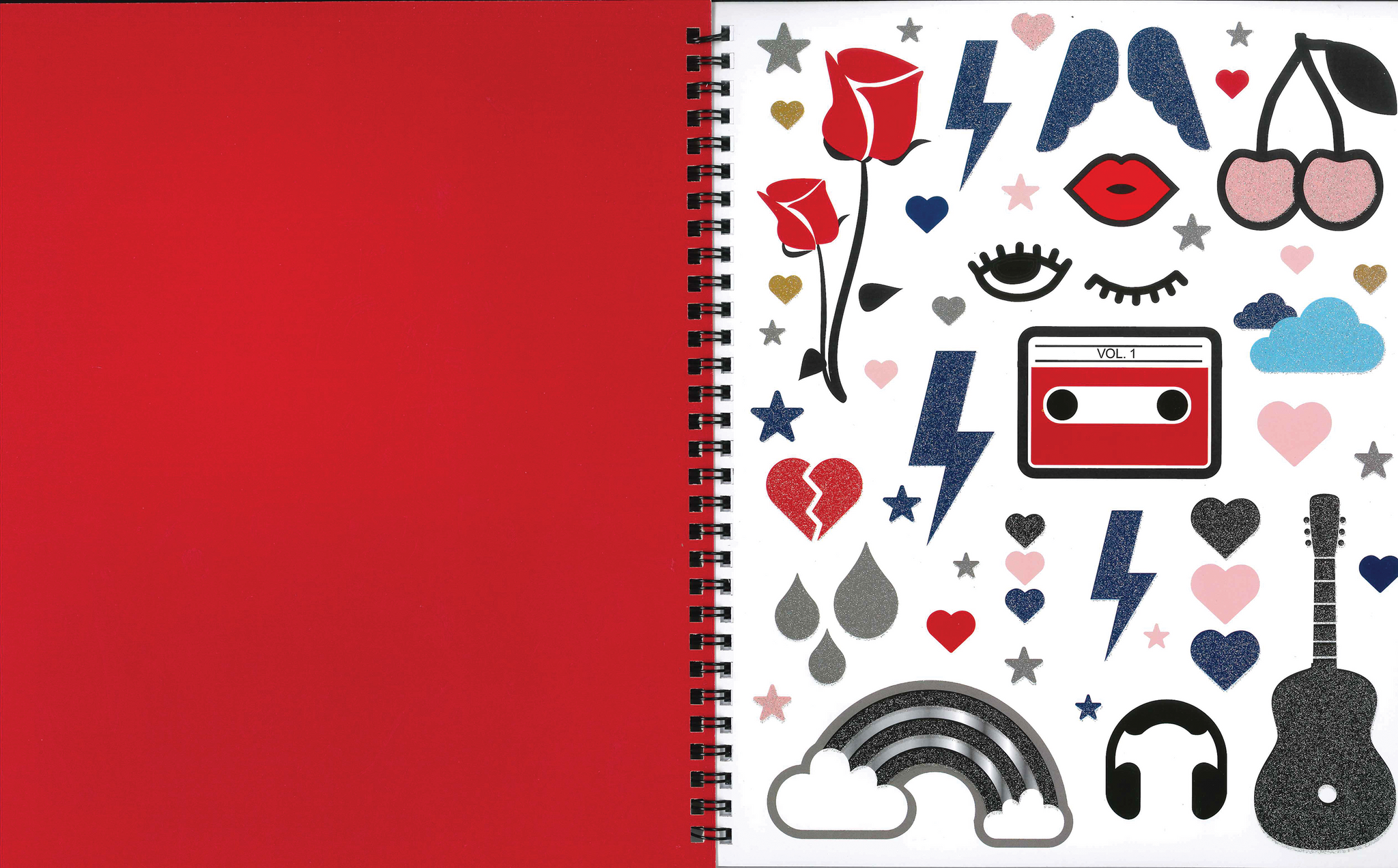 Lauren & Johnny 2-Pack Customizable Notebooks
