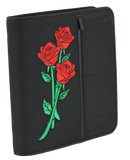 Johnny Rose Zipper Binder