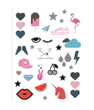 Lauren & Johnny 2-pack Sticker Sheet