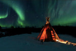 Northern Light Photography tour with warm SkyArk