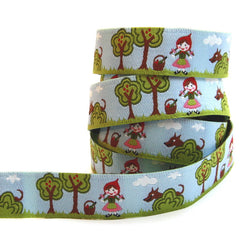 Farbenmix Ribbon - Little Red Riding Hood and Wolf