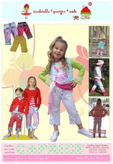 Children's Shorts and Pants Sewing Patterns