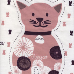 Saffron Craig - Cat Softies - Pink