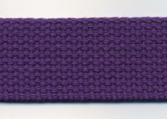 Cotton Webbing - Purple