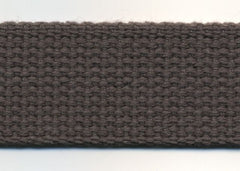 Cotton Webbing - Charcoal
