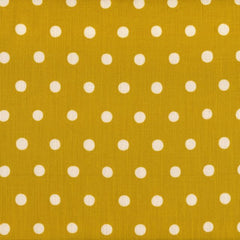 Echino Dots - Cream on Yellow
