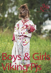 Bettsy Kingston - Boys & Girls Viking Pjs Pattern