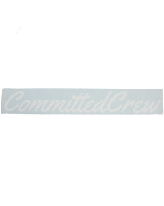 "23"" Committed Crew Cut Sticker"