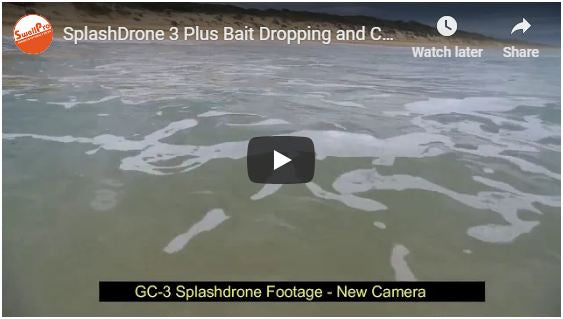 Splash Drone 3 Plus Bait Dropping