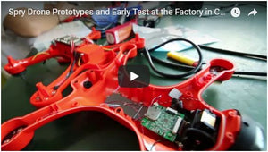 Spry Drone Prototypes and Early Test at the Factory in China