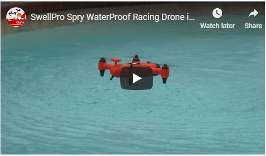Spry Drone Amidst Rainfall