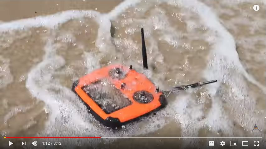 Spry Waterproof Drone Testing in the real worlds