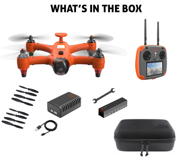 swellpro.com spry drone what's included