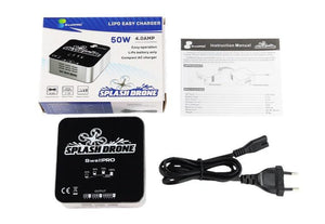 Splash Drone lipo battery smart charger package