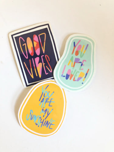 Stickers: Spread Positivity