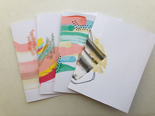 5x7 Hand Painted Cards