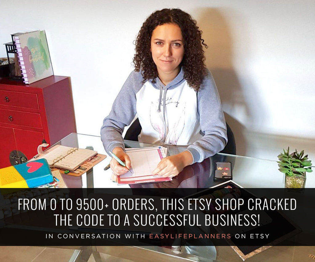 FROM 0 TO 9500+ ORDERS, THIS ETSY SHOP CRACKED THE CODE TO A SUCCESSFUL BUSINESS!